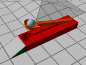 No marble platformer is complete without a catapult!